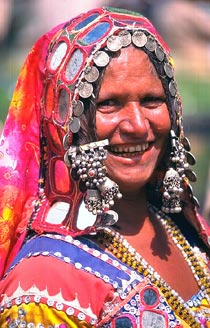 Rajasthani Woman, Pushkar, India