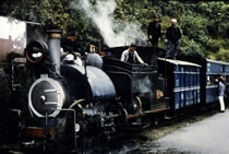 Steam locomotive on the Darjeeling Himalayan Railway still runs today!