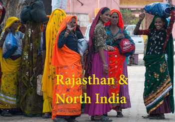 Women in Rajasthan North India